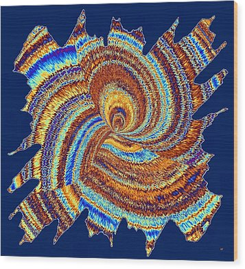 Abstract Fusion 176 Wood Print by Will Borden