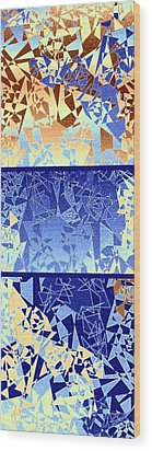 Abstract Fusion 194 Wood Print by Will Borden