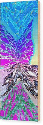 Abstract Fusion 196 Wood Print by Will Borden