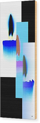 Abstract Fusion 220 Wood Print by Will Borden