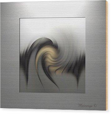 Abstract G-b-g Wood Print