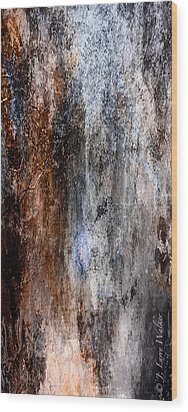 Abstract G - From Series 1 Wood Print by J Larry Walker