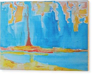 Abstract II Wood Print by Patricia Awapara