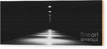 Abstract Light Wood Print by Scott Pellegrin