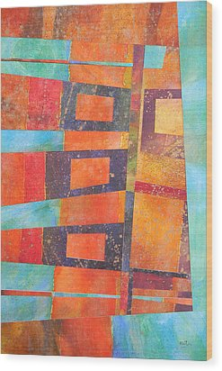 Abstract No.1 Wood Print by Adel Nemeth