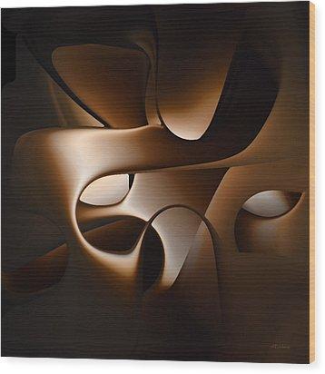 Chocolate - 005 Wood Print by rd Erickson