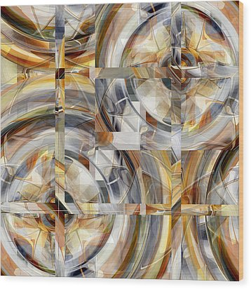 Balanced - 031 Wood Print by rd Erickson
