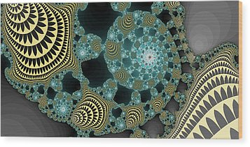 Abstract Number 9  Wood Print by James Hammen