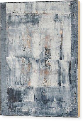 Abstract Painting No. 1 Wood Print by Julie Niemela