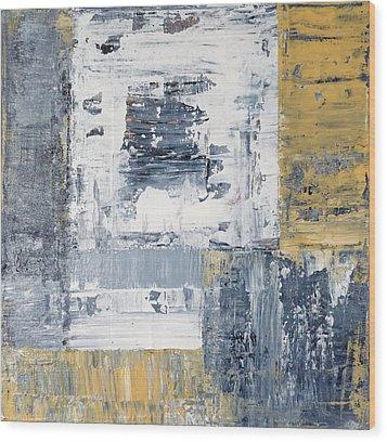 Abstract Painting No. 3 Wood Print by Julie Niemela