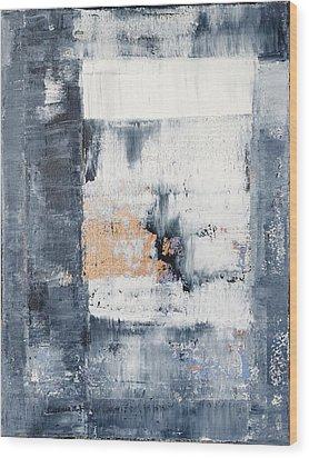 Abstract Painting No.5 Wood Print by Julie Niemela