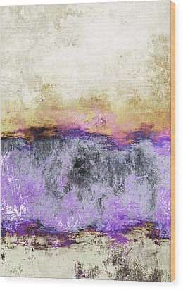 Abstract Print 20 Wood Print by Filippo B