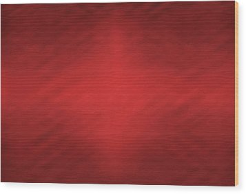 Abstract Red Motion Blur Background Wood Print by Somkiet Chanumporn