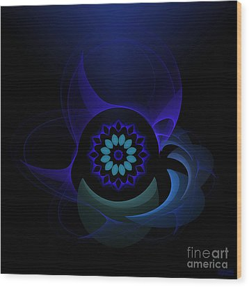 Wood Print featuring the digital art Abstract Surprise by Hanza Turgul
