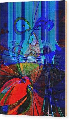 Abstract Vol1 Wood Print by Marek Czaja