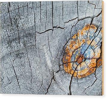 Abstract Woodgrain Upclose 6 Wood Print