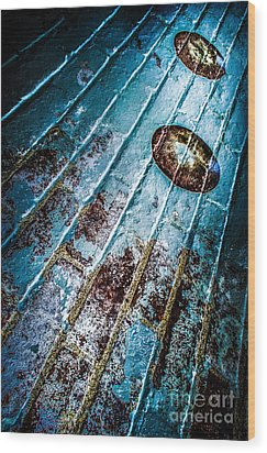 Abstracted Wall Wood Print by Michael Arend
