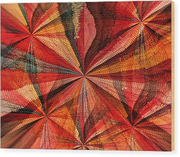 Abstraction 1 Wood Print by Gerry Bates