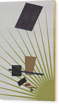 Wood Print featuring the photograph Abstractions by Allen Beilschmidt