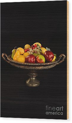 Abundant Fruit Wood Print by Timothy OLeary
