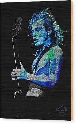 Ac/dc - Angus Young Wood Print