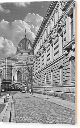 Academy Of Arts Dresden Wood Print by Christine Till