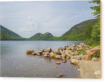 Acadia Bubble Mountains  Wood Print