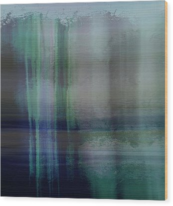 Acid Wash Wood Print by Terence Morrissey