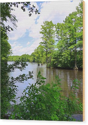 Wood Print featuring the photograph Across Crystal Lake by Jim Whalen