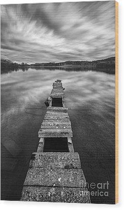 Across Wood Print by John Farnan