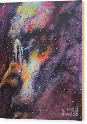 Across The Universe Wood Print by Robert Hooper