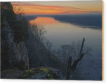 Across The Wide Missouri Wood Print by Robert Charity