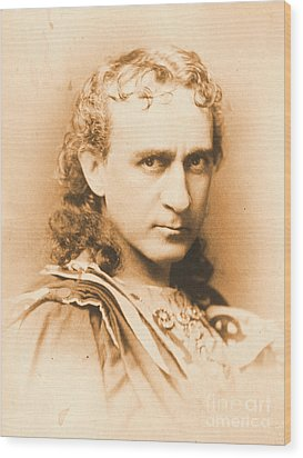 Actor Edwin Booth C1860 Wood Print by Padre Art