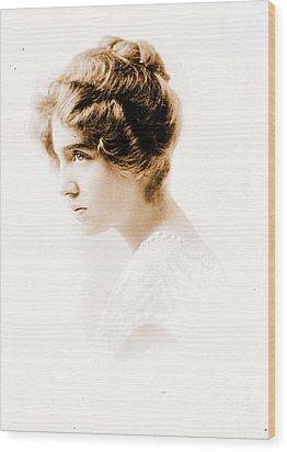 Actress Julie Herne C1900 Wood Print by Padre Art