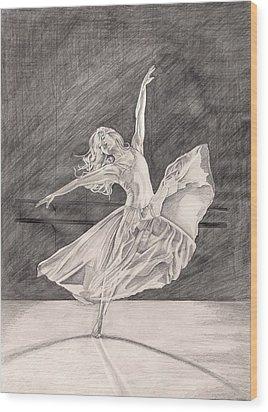 Adagio Wood Print by Beverly Marshall