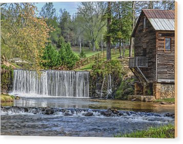Adairs Mill Wood Print by Bob Jackson