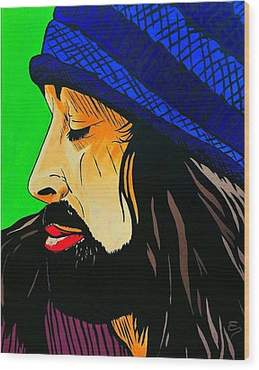 Adam Duritz Counting Crows Wood Print
