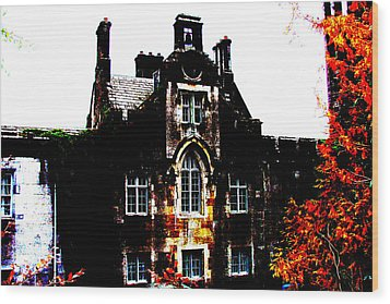 Wood Print featuring the photograph Adare Manor by Charlie and Norma Brock