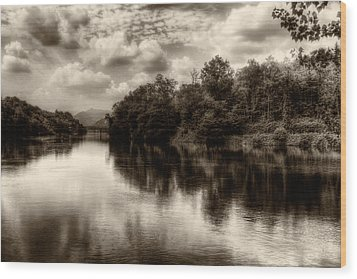 Adda River 2 Wood Print