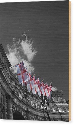 Admiralty Arch London Wood Print by Mark Rogan