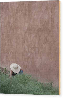 Adobe Gardener Wood Print by Heidi Hermes