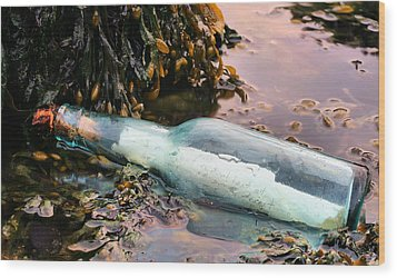 Adrift  Wood Print by JC Findley