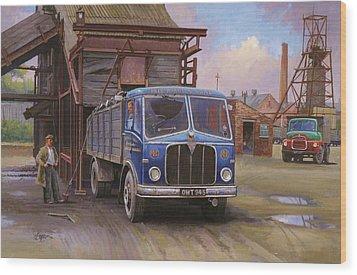 Aec Mercury Tipper. Wood Print by Mike  Jeffries