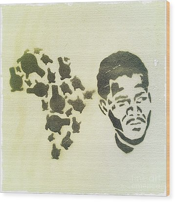 African Icon Wood Print by Neil Overy