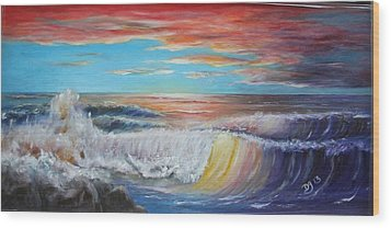 After The Storm At Fort Gaines Wood Print