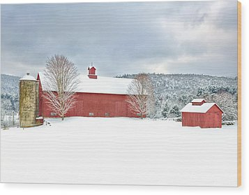 After The Storm Wood Print by Bill Wakeley