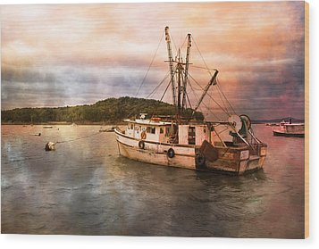 After The Storm Wood Print by Betsy Knapp