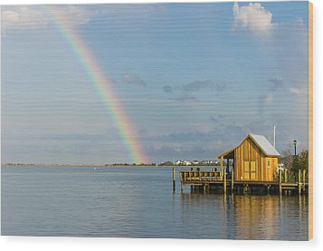 After The Storm Wood Print by Gregg Southard