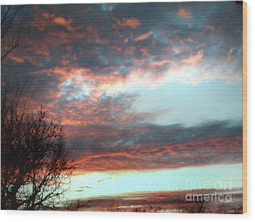 After The Storm Wood Print by Jeffery Fagan