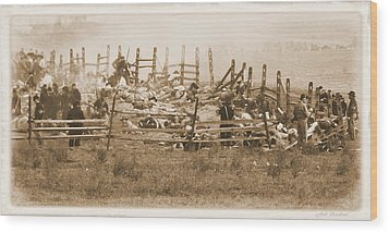 Wood Print featuring the photograph Aftermath by Judi Quelland